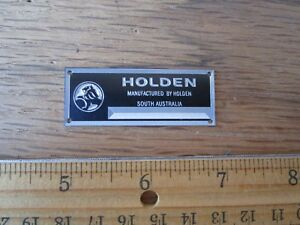 Holden Metal Display Plaque 1/18 1/43 Commodore Monaro Torana Premier FE FC VK