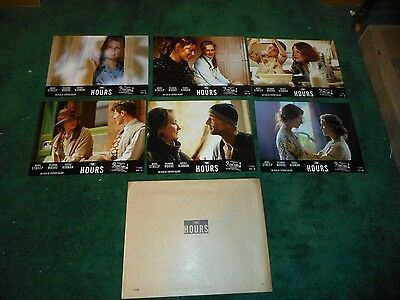 THE HOURS - ORIGINAL SET OF 6 FRENCH LOBBY CARDS - NICOLE KIDMAN/MERYL STREEP