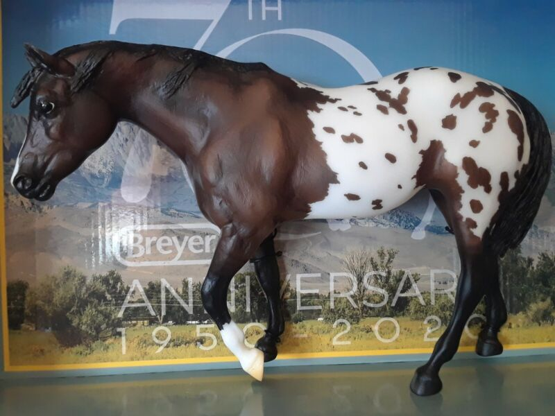 Breyer NIB 70th Anniversary Indian Pony Limited Edition 1825