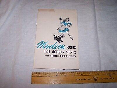 1942 BIRDS EYE Frosted Foods - Frozen Food Information Guide - SCOTTY DOG Cover