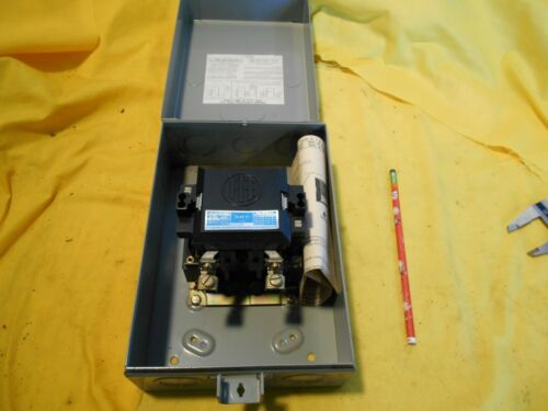 NEMA 0 MOTOR STARTER ITE USA A102B electric contactor machine control switch
