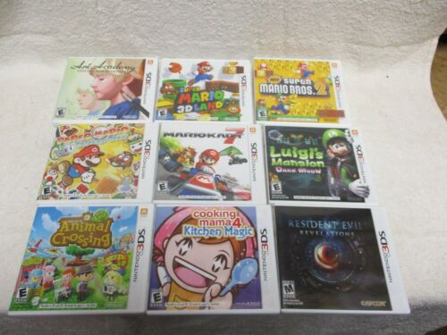 3DS GAME CASE AND MANUAL