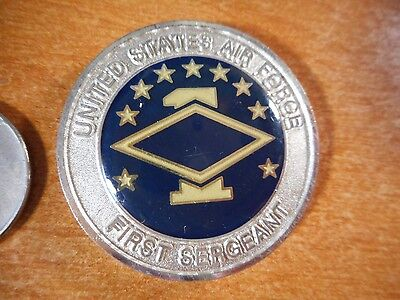 United States First Sergeant Well Done USAF Challenge Coin #1632