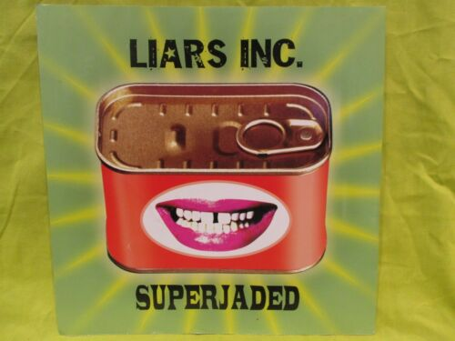 """Liars Inc. Superjaded  12"""" X 12"""" RECORD STORE PROMO POSTER"""