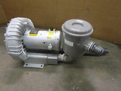 Gast R6335a-2 2x2 2.5hp Regenerative Blower 190-220380-415v 3ph 215cfm