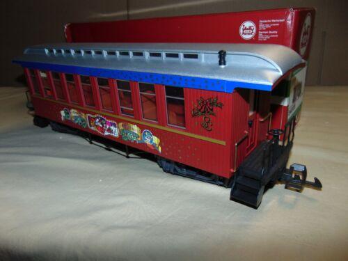 LGB 34805 CHRISTMAS PASSENGER CAR IN ORIGINAL BOX...