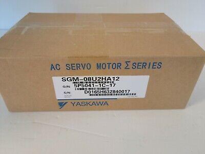 Yaskawa Sgm-08u2ha12 Ac Servo Motor E Series...new Warranty