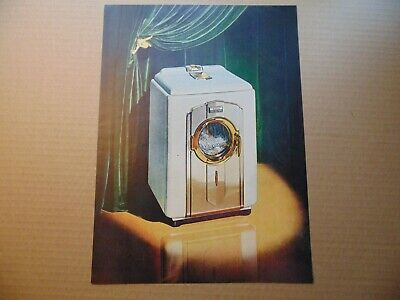 1947 BENDIX WASHING MACHINE GOLD/SILVER Anniversary vintage art print ad for sale  Shipping to Nigeria