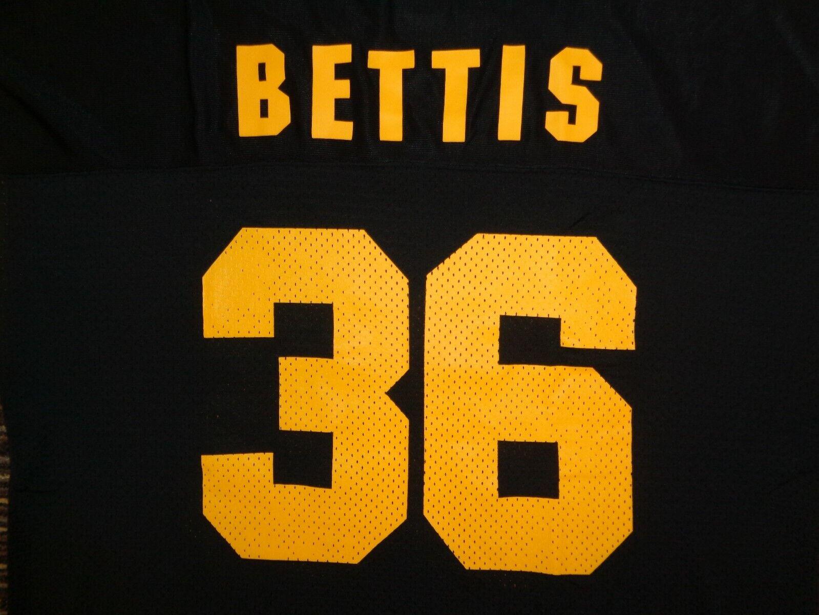 JEROME BETTIS 36 ST. LOUIS LA LOS ANGELES RAMS STARTER BLACK NFL GAME JERSEY  - $199.99