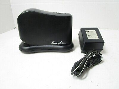 Swingline 211xx Electric And Battery Powered Stapler Ac Adapter Tested Works