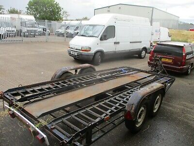 car transporter trailer/twin axle