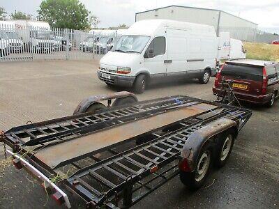 car transporter trailer/twin axle