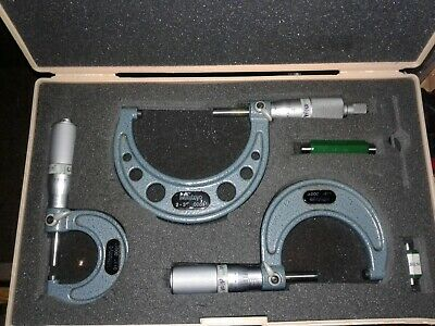 Mitutoyo Outside Micrometer Set 0-3