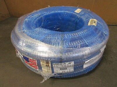 Superflex Ltd. 136146 9112 1-12x100 Clear Pvc Food Grade Corrugated Hose
