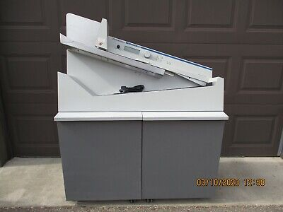 Omation Opex 206 Envelope Letter Opener High Volume Withbatcher - Rebuilt