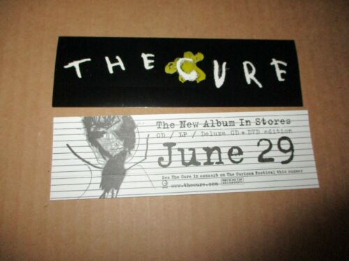 2004 THE CURE S/T Release US promo Sticker