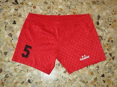 Short ancien porté AS CANNES Football ? Volley ? annees 80-90  ( maillot  )  image