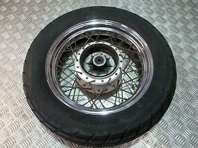 Yamaha XVS Dragstar 125cc Rear Wheel + Tyre #87 d'occasion  Expédié en Belgium