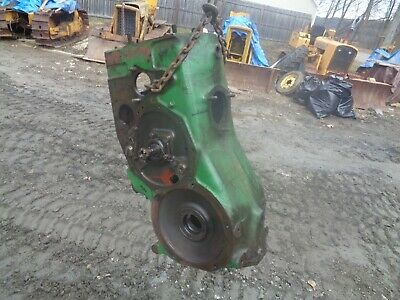 John Deere H. Main Case With Transmission Gears Shifting Forks And Shaft