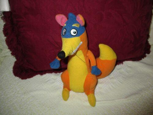 "Dora the Explorer Swiper the Fox 8"" Stuffed Toy 2002 REDUCED"