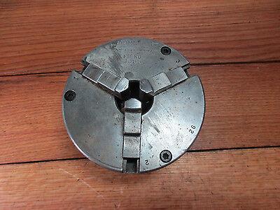Metal Lathe 5 - 3 Jaw Chuck Cushmann South Bend 10k Metal Lathe 1-12-8