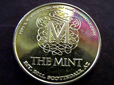THE MINT---SCOTTSDALE, ARIZONA BRONZE SOUVENIR MEDALLION