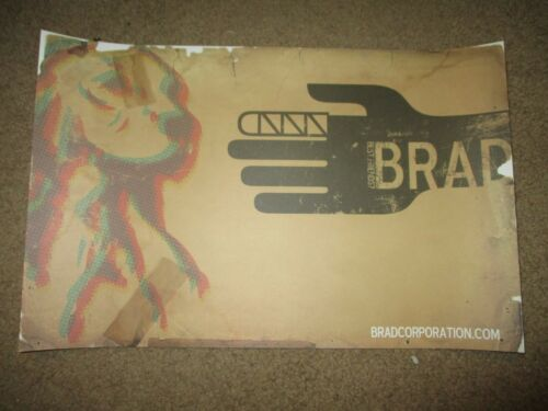 BRAD cd lp album promo concert gig poster print BEST FRIENDS? pearl jam