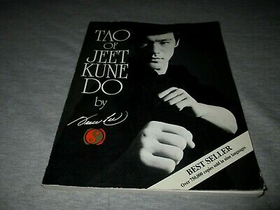 BRUCE LEE-TAO OF JEET KUNE DO-SOFTCOVER BOOK
