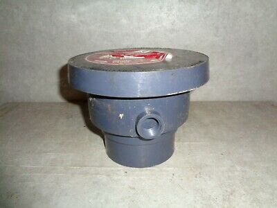 Sioux Chief Finish Line Floor Drain Cleanout 3 Inch Pvc