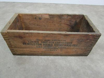 Ammo Boxes Vintage Wood Ammo Box