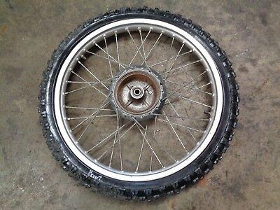 Rim Lock /& 21 Inch Rim Strip 80//100-21 CR 125R 1980-1984 HONDA CR125R Tire Tube