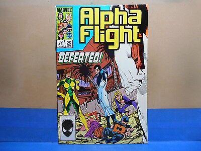 ALPHA FLIGHT Volume 1 #26 of 130 1983-1994 Marvel Comics Uncertified see below