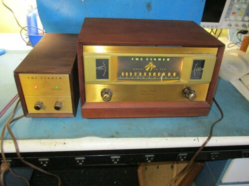 Fisher FM-90X tube tuner and MPX-100 tube multiplexer
