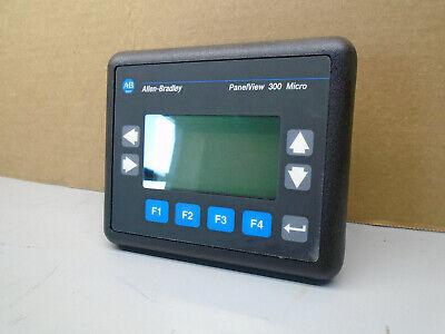 2711-m3a18l1 Frn 4.46 Allen Bradley Panelview 300 Micro 2711m3a18l1 163a