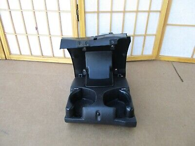 98-02 Dodge Ram Pickup Truck In Dash Twin Cup Drink Holder Console AGATE Black