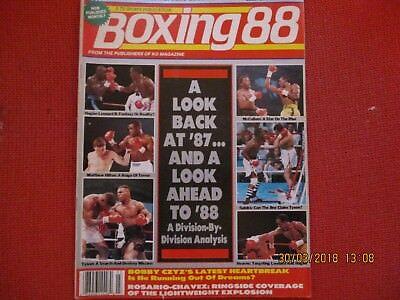 BOXING '88 MAGAZINE.