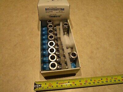 Swagelok Ss-600-3tmt 38tube X 14 Mnpt X 38tube Stainless Tee Box Of 10