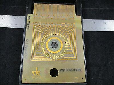 Rucker Kolls Probe Card Model 110-105c Gold