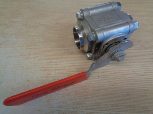 """4466PTBW1 Worchester 1-1/2""""Stainless Steel Ball Valve (See pictures for details)"""