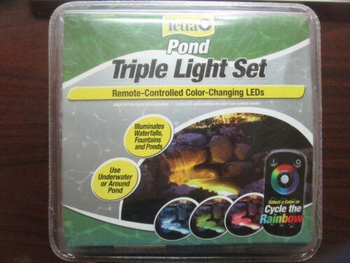 Tetra Pond Triple Light Set 19763-00 BRAND NEW