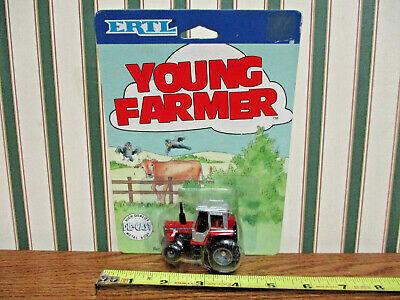 Massey-Ferguson 699 On Young Farmer Card By Ertl 1/64th Scale >