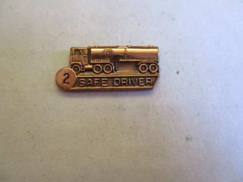 Circle C 2yr Trucking Truck Driver Employee Safety Award Pin
