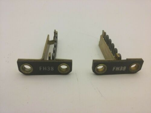 WESTINGHOUSE FH38 THERMAL OVERLOAD HEATER ELEMENT UNIT (LOT OF 2) NNB