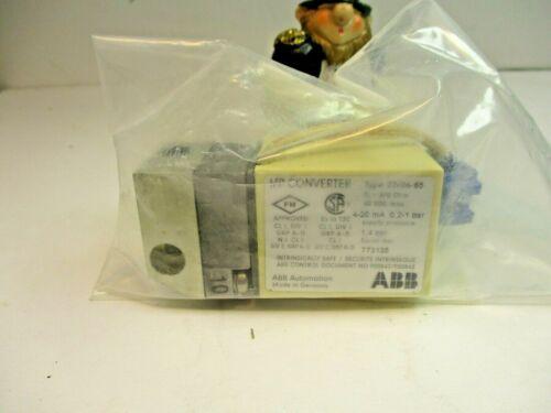 ABB Type 22/06-65 I/p Converter 4-20 MA 0,2-1 BAR  Current Pressure Transducer