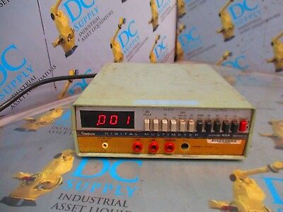 Simpson Model 464d Ser 2 120 Vac 50-400 Hz 10 Va A Digital Multimeter