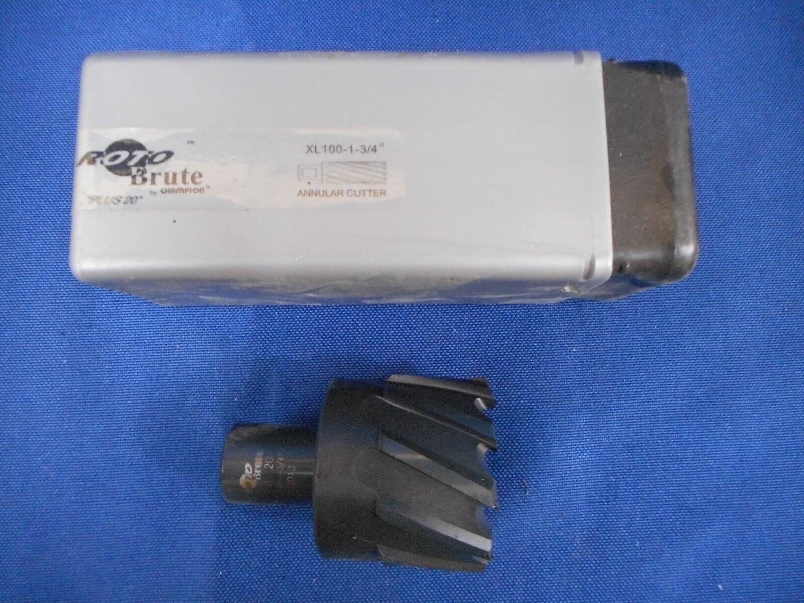 """ROTO-BRUTE Annular Cutter 2/"""" x 1/"""" Depth HSS XL100-2/"""""""