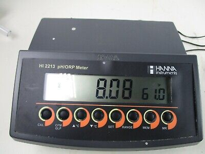 Hanna Instruments Benchtop Phmv Meter With Three Point Calibration - Hi2213