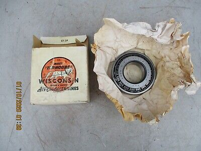 Authentic Wisconsin Engine Motor Part Me-98 Tapered Roller Bearing Nos