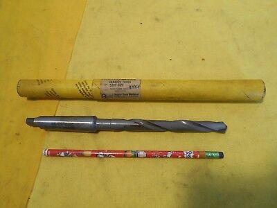 New 2 Morse Taper Shank 3364 Carbide Tipped Drill Bit Tool Super Morse Usa
