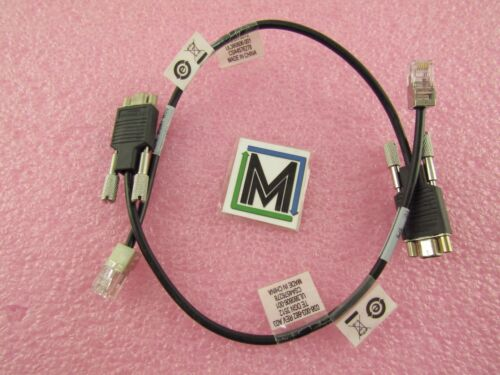 (2) 038-003-682 EMC SPS TO RS232 SERVER MAINTENANCE CABLES WC